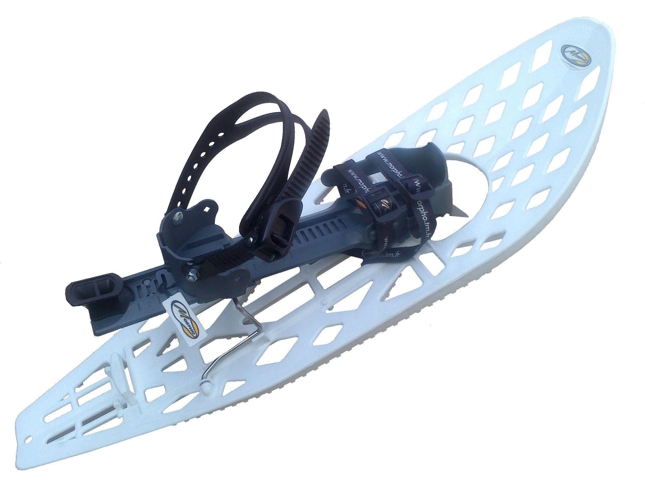 MORPHO Trimove Light Schneeschuhe mit Fußgelenk-Schnallen Snow Wandern Gr.M GB5